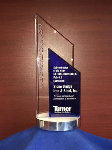 Turner Subcontractor of the Year Award